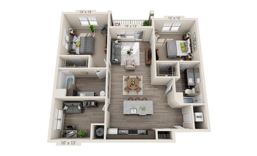 Floorplan B4D